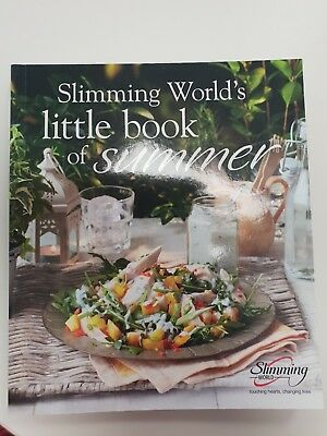 Slimming World Little Book Of Summer Mini Cook Book Recipes Food Optimising