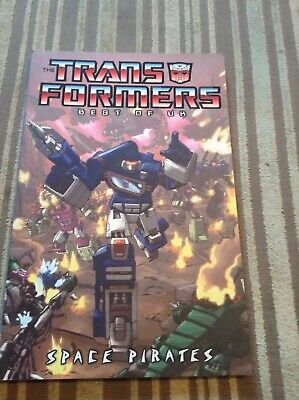 Transformers best of Uk Space Pirates comic book