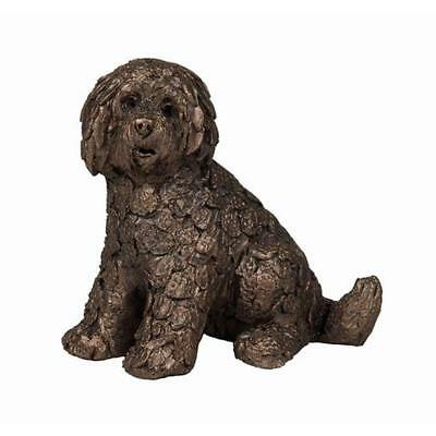 Shorty Labradoodle - Frith Sculptures by Adrian Tinsley Cold Cast Bronze ATM001