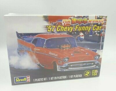 Revell 1957 funny car mongoose sealed