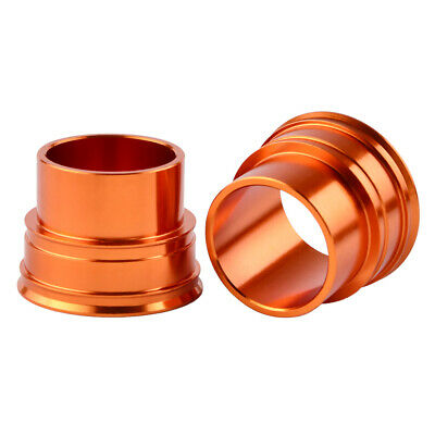 Billet Aluminum Front Wheel Spacers Kit For KTM 450 SX SXF XCF XCW EXC EXC-W SMR