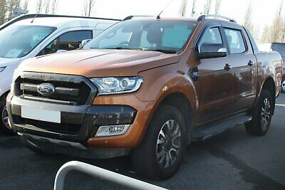 Auto Clover Wind Deflectors Set for Ford Ranger 2012+ Double Cab (4 pieces)