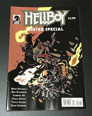 Hellboy Winter Special (Dark Horse) #0C 2018 Ba Variant VF/NM