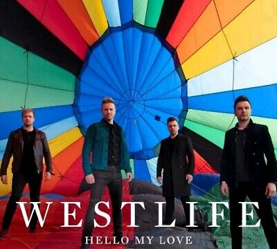 Westlife - Hello My Love - Strictly Limited 2 Track Cd  Exclusive  Instrumental