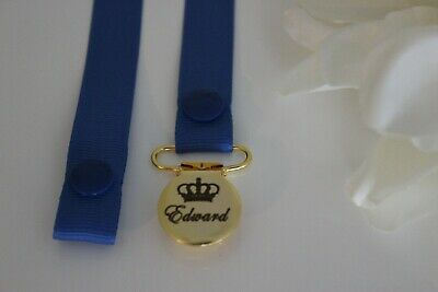 Personalised Dummy Clip ~Suitable for Avent, Tommee Tippee,MAM MORE *ENGRAVED*