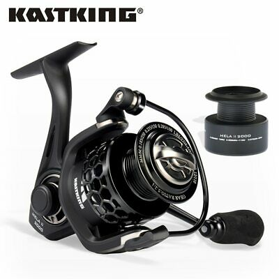 Kastking Mela Ii Upgrading Carbon Fiber Drag Spinning Reel With Extra Spool Fres
