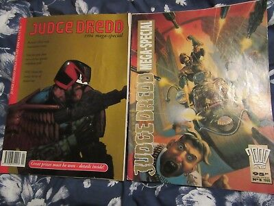 Judge Dredd Mega Special, 1990 + 1994, # 3 + 7, 2000AD, Ron Smith, David Roach