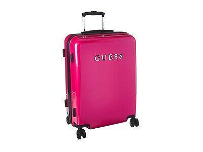 """NEW GUESS Mimsy 20"""" 8 - Wheeler Red Suitcase ORIGINALLY $200 Q107"""