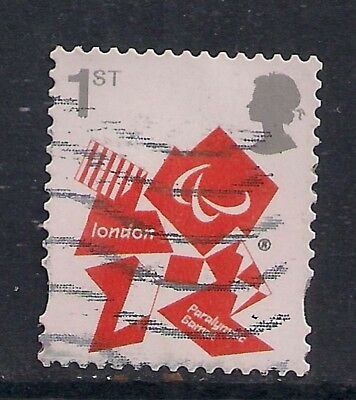 GB 2012 QE2 1st London Olympic Paralympic Games Emblem  SG 3250 ( M542 )