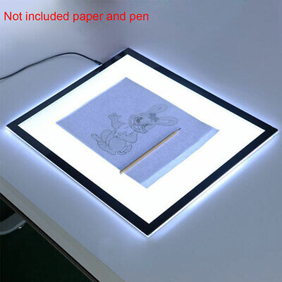 A3 Art Stencil Pad Copy Table Sketching Tracing Led Light Box Drawing Board
