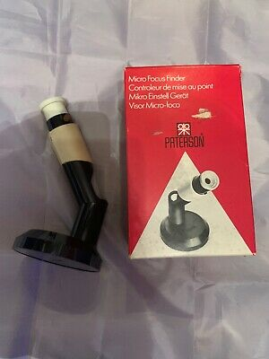 Vintage Photographic Accessory - Paterson Darkroom Micro Focus Finder In Box