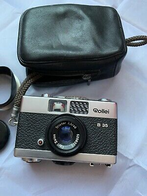 Rollei B35 Vintage Camera In Case With Extras