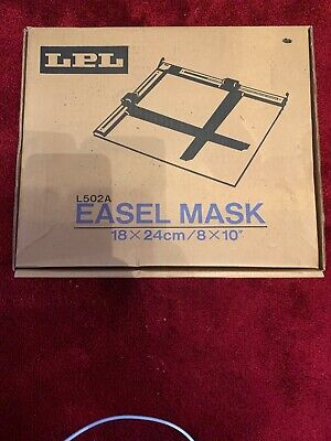Vintage Photographic Accessory - LPL Easel Mask In Box