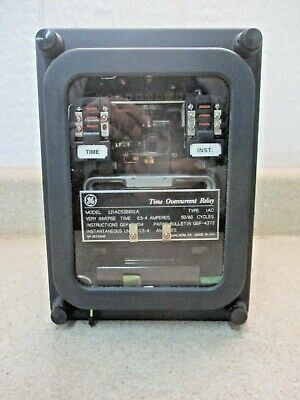 Ge 12Iac53B801A Time Overcurrent Relay, #28326J New