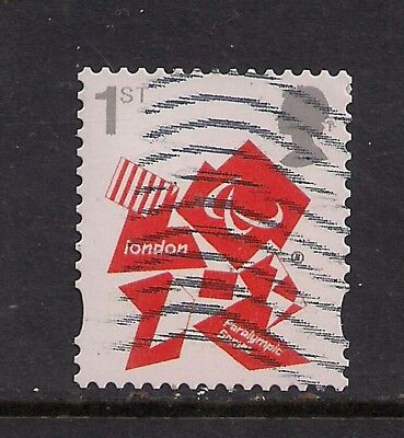 GB 2012 QE2 1st London Olympic Paralympic Games Emblem  SG 3250 ( T636 )