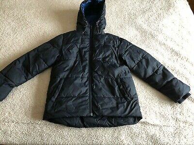 Boys Blue Puffa Jacket from Next - Age 9 years
