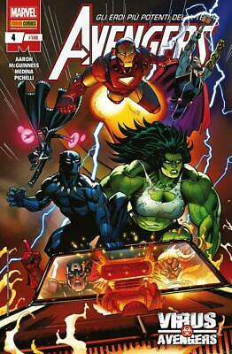 AVENGERS 4 - I VENDICATORI 108 - MARVEL PANINI COMICS italiano - NUOVO