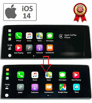 BMW NBT EVO firmware version > P 18-11-x  CARPLAY FULL SCREEN with ENET cable
