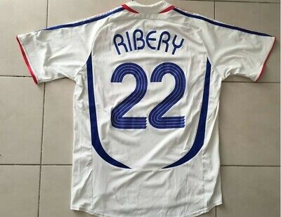 Ribery 22 France Jersey World Cup 2006 Football Shirt Soccer Jersey Maillot bcc48c00c