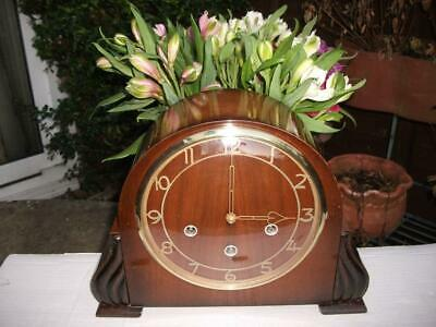 Smiths Very Rare 8 Day Westminster Chime Mantel Clock. 1955. Fully Overhauled.