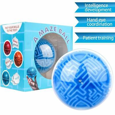3D Maze Ball Toy for Kids Adults Mini Magic Puzzles Intelligence Idea Gravity