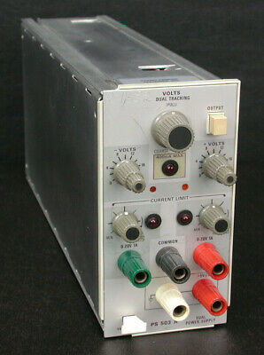 Tektronix PS503A Dual Tracking Power Supply Plug-in Module for TM500 Series