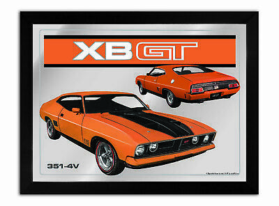 Bar Mirror-Picture-Art Suit Xb Gt Coupe Orange Enthusiast A3 Size 450Mm X 350Mm