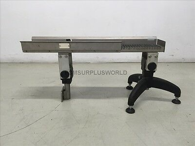 "Roller Conveyor 8.5"" X 37"" X 18.5"" High ( Used and Tested )"