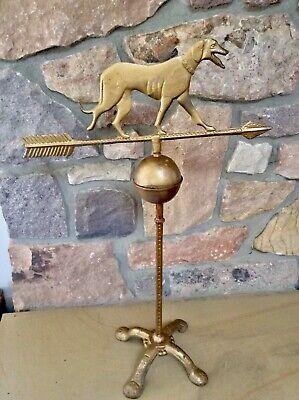 Antique Vintage Dog Weathervane  29 Inches