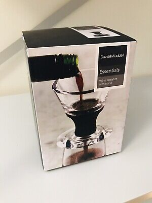 Davis & Waddel Wine Aerator with Stand