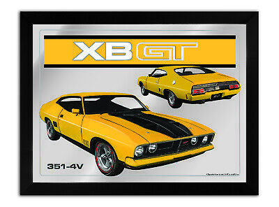 Bar Mirror-Picture-Art Suit Xb Gt Coupe Yellow Enthusiast A3 Size 450Mm X 350Mm