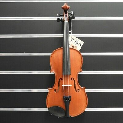 Gliga Violin  4/4 Gliga 2 Outfit Antique Finish Inc Bow & Case Made in Europe