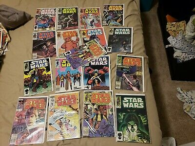 Star Wars Bronze Age Comic bundle .99 Start No Reserve over 50 issues!