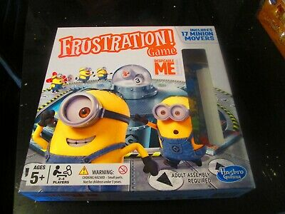 despicable me frustration board game , new and sealed