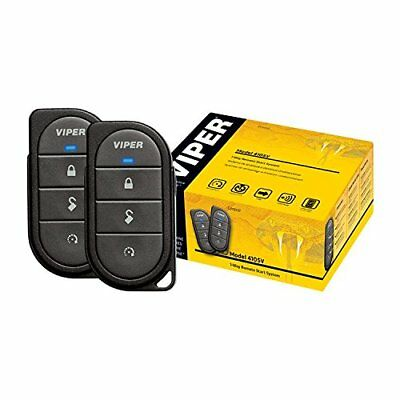 Viper Car Remote Start System Keyless Entry Two 4-Button 1-Way Transmitters NEW