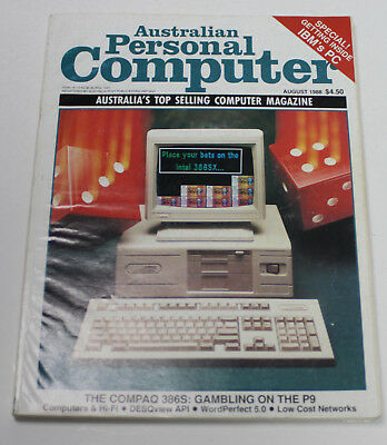 Australian Personal Computer (APC) Magazine (1 Issue from August 1988)