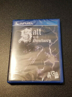 Playstation PS Vita Salt And Sanctuary Limited Run Games #167 Factory Sealed New
