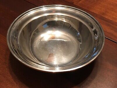 "Heavy Estate GORHAM Sterling Silver 8"" Bowl Not Scrap 277 Grams"