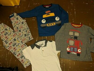 a bundle of boys clothes age 5-6yrs from Next