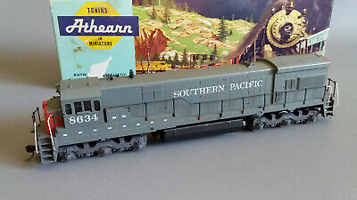 Athearn U33C Southern Pacific #8634 V.good Runner+Looker Boxed Ho Gauge(Ln285)