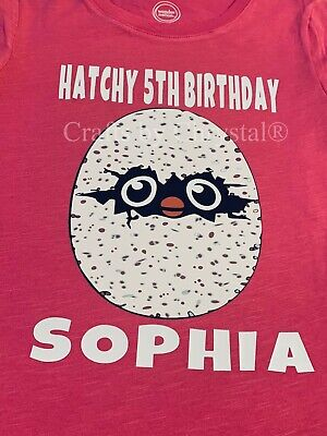 Hatchimals Personalized Birthday Shirt
