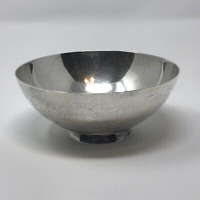 TIFFANY & CO. Sterling Silver Finger or Nut Bowl #22674 c.1956-1965 Mid Century
