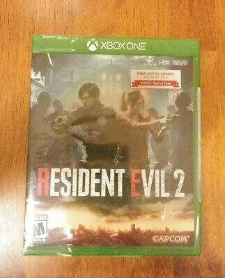 Resident Evil 2 Xbox One (2019) Brand New! Unreal Remake!! Best Of E3!!!
