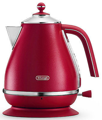DeLonghi Icona Elements Kettle RED KBOE 2001R - BRAND NEW IN BOX
