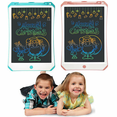 11 Inch Kids Digital LCD Writing Drawing Graphic Tablet Pad Board with Stylus AU