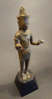 Bronze Khmer Style Buddha - CAMBODIA - 17th/18th Century or Earlier
