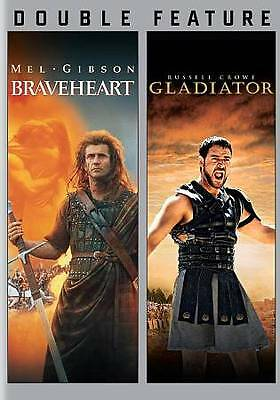 Braveheart/Gladiator (DVD, 2013, 2-Disc Set)