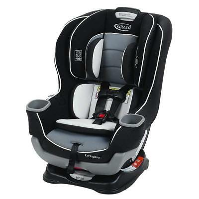 NEW Graco Baby Extend2Fit Convertible Car Seat Infant Child Safety Gotham