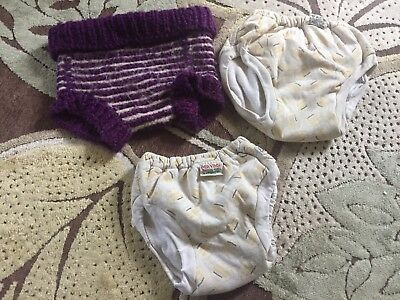 Imse Vimse Organic Cotton Training Pants Wool Diaper Cover 15-24 Months 3-4 Year