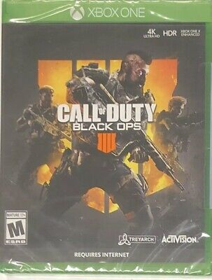 XBOX One Call of Duty Black Ops 4 Game - Brand New